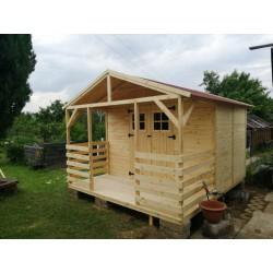 Domek na działkę,narzędziowy drewn. 250x300Gratisy