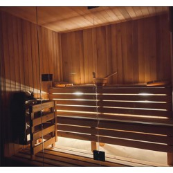 Sauna sucha, fińska 210x160. Olcha